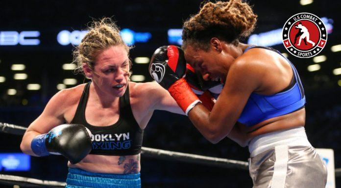 header image showing two female boxers training