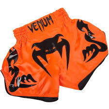 venum top kickboxing shorts