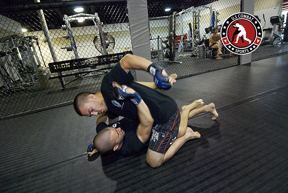 training mma with a protective rashguard