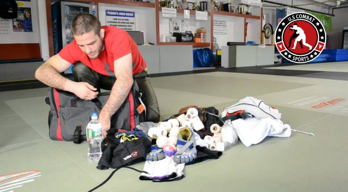 what's inside your training bag