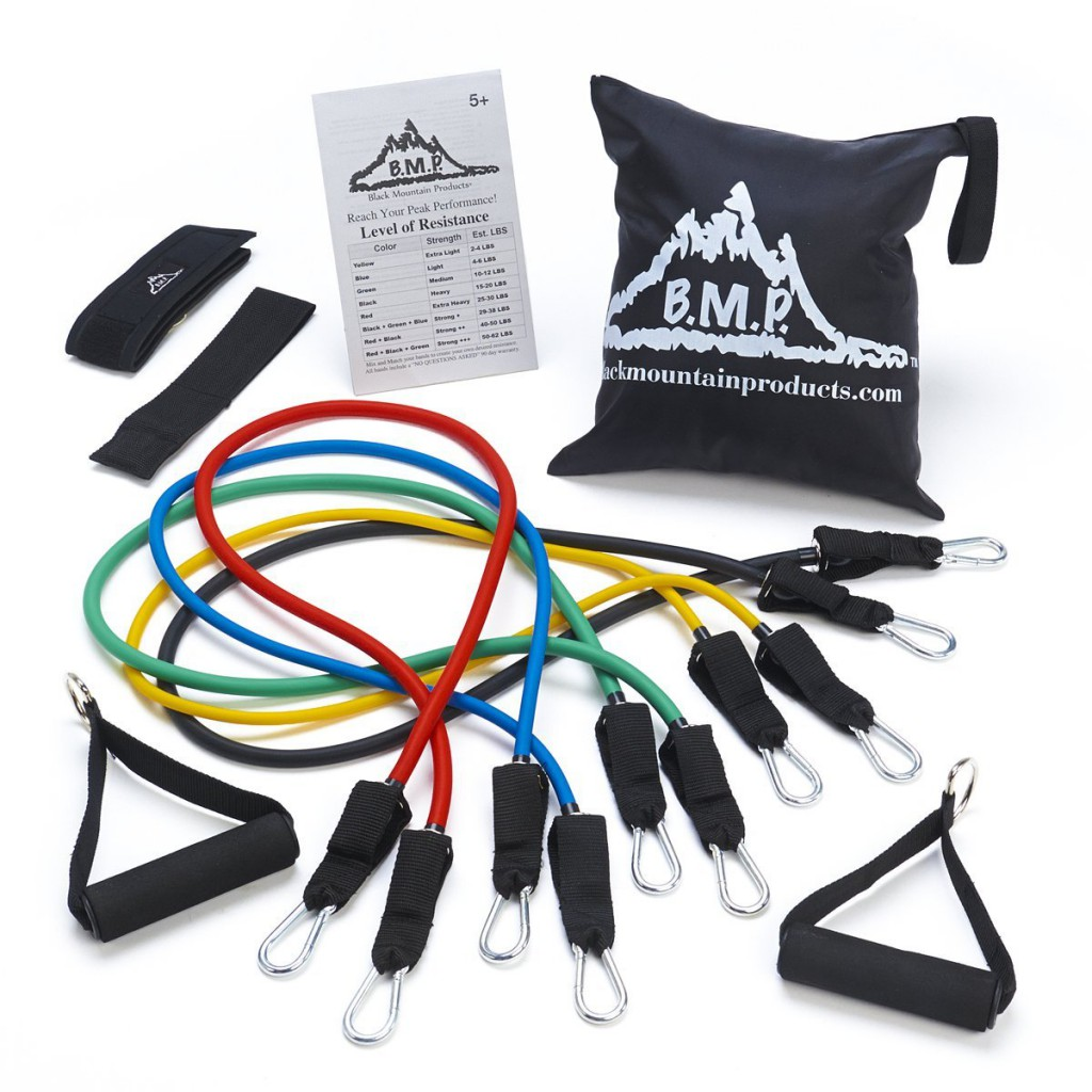 Black Mountain Products Resistance Band Set product image