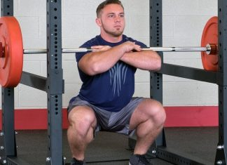power rack exercise